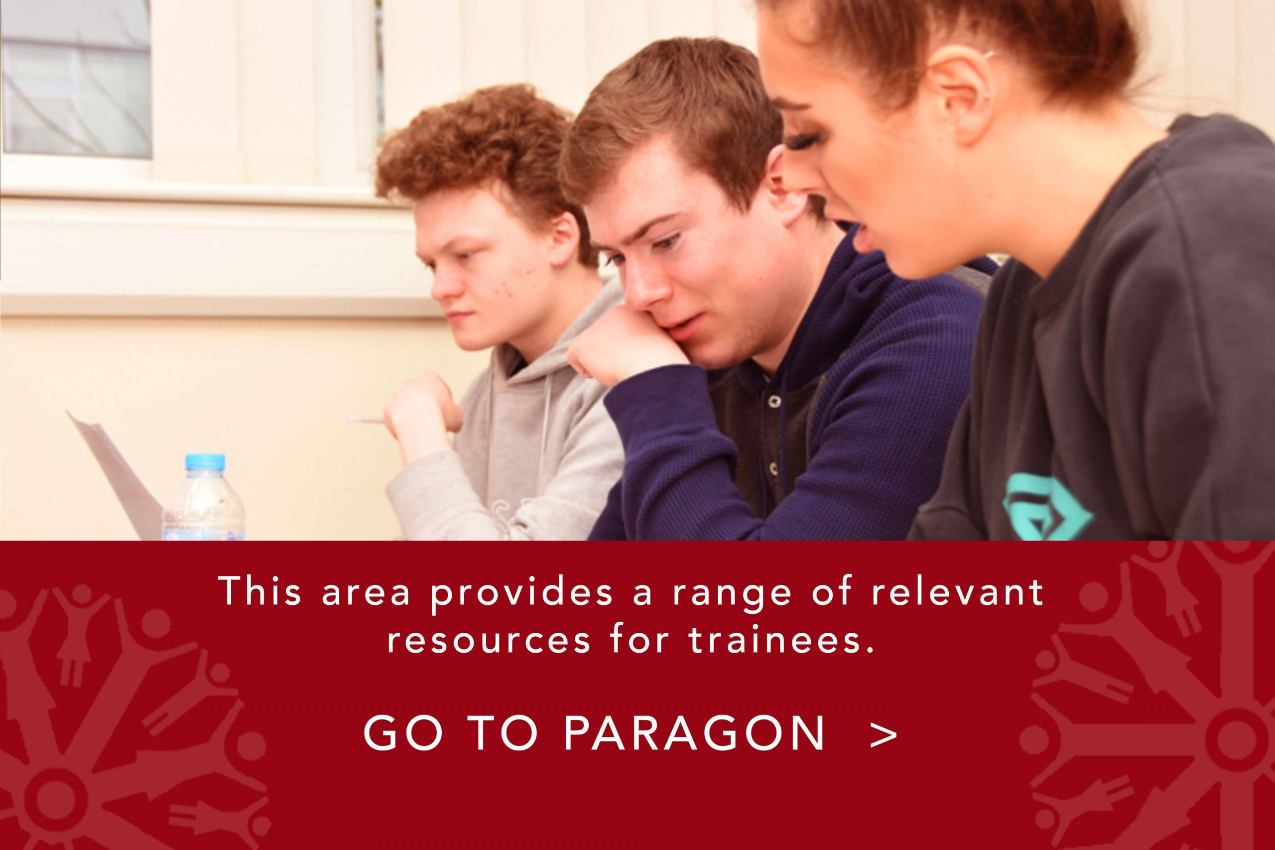Link to our paragon area which provides a range of relevant resources for trainees
